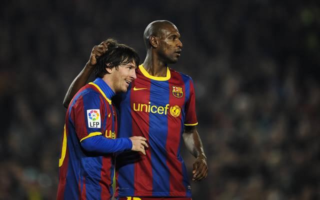 Eric Abidal hat seine Aussagen über Lionel Messi richtig gestellt