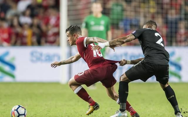 Philippe Coutinho spielt beim FC Liverpool