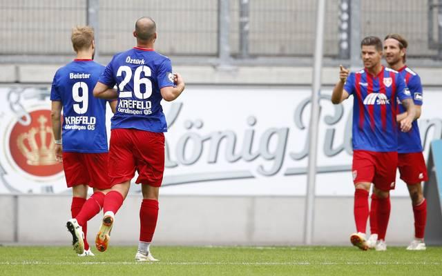 3. Liga: KFC Uerdingen erwägt Umzug nach Düsseldorf oder Wattenscheid, Der KFC Uerdingen trägt seine Heimspiele in dieser Saison in Duisburg aus