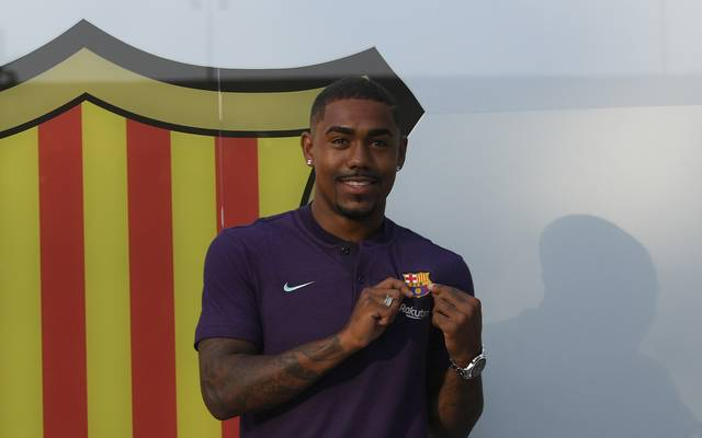 Malcom wechselte für 41 Millionen Euro von Girondins Bordeaux zum FC Barcelona