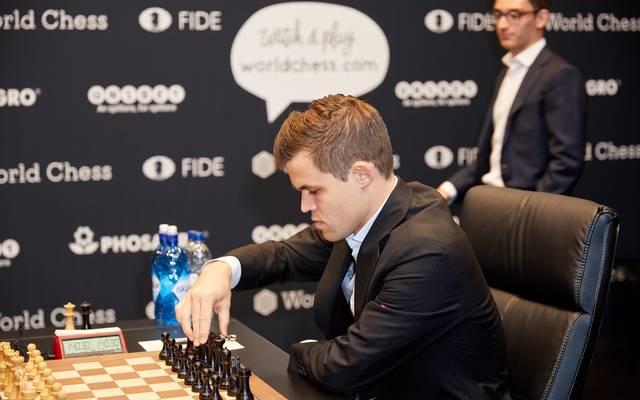 Magnus Carlsen wurde bei der Schnellschach-WM Fünfter