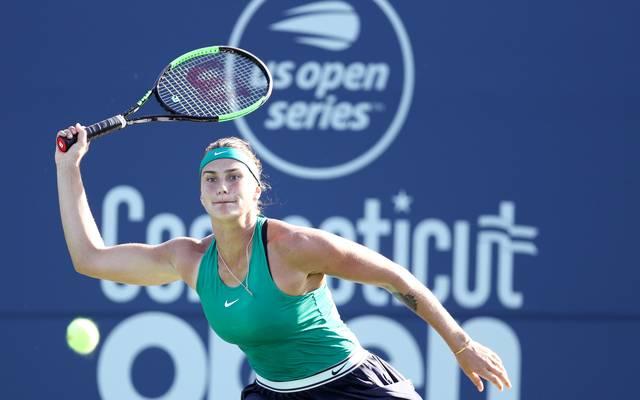 Aryna Sabalenka hat in Connecticut ihr erstes WTA-Turnier gewonnen