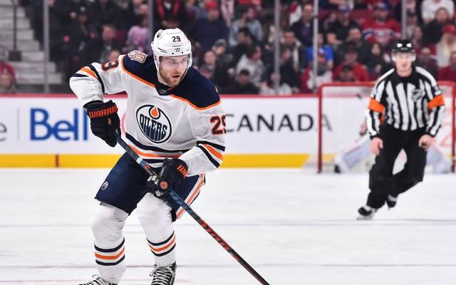 Leon Draisaitl durfte sich mit den Oilers endlich wieder über einen Sieg freuen Nationalspieler Leon Draisaitl ist bei den Edmonton Oilers zum NHL-Star gereift