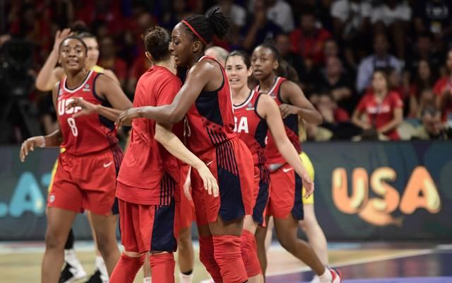 Das Finale der Basketball-WM der Frauen war eine einseitige Angelegenheit zu Gunsten der USA