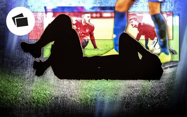 Die meistgefoulten Spieler der Bundesliga-Hinrunde