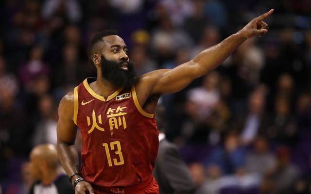 NBA: James Harden und Houston Rockets patzen bei Timberwolves