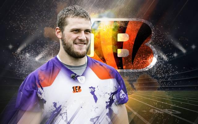 Moritz Böhringer kämpft um seine letzte NFL-Chance bei den Cincinnati Bengals