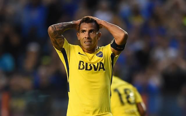 Carlos Tevez kehrte Anfang Januar 2018 zum seinem Jugendverein den Boca Juniors zurück