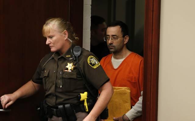 Larry Nassar wurde im Januar zu einer hohen Haftstrafe verurteilt