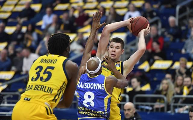 Rokas Giedraitis war der Topscorer von ALBA Berlin gegen Braunschweig