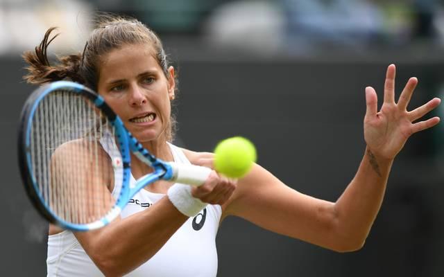 Julia Görges träumt in Wimbledon vom Coup gegen Serena Williams