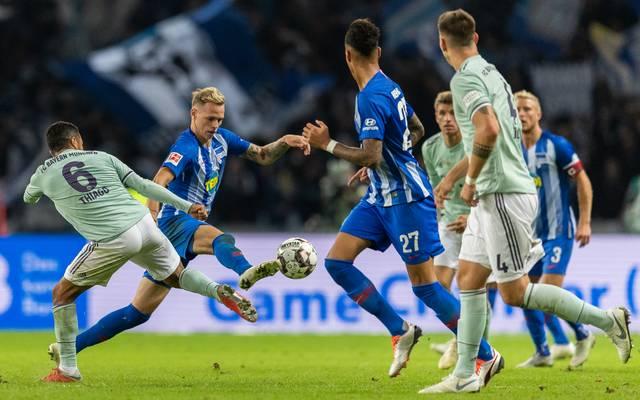 In der Hinrunde konnte Hertha BSC den FC Bayern überraschend besiegen