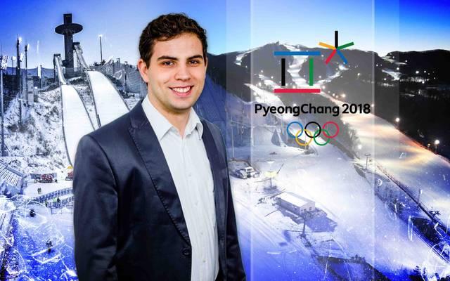 Für SPORT1 berichtet Jonas Nohe von den Olympischen Winterspielen aus Pyeongchang