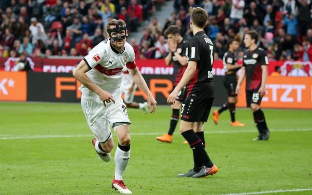Christian Gentner traf in Leverkusen zum Sieg des VfB Stuttgart