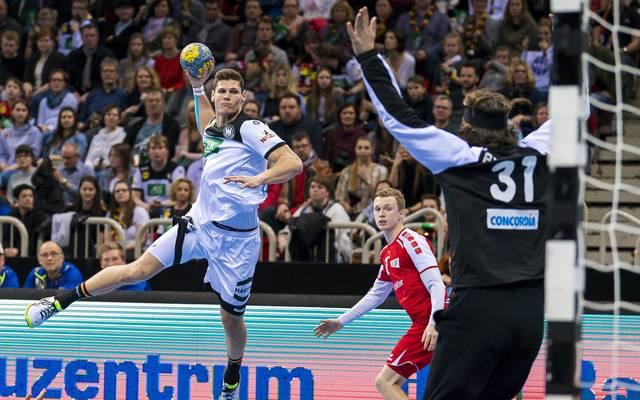 Sebastian Heymann war beim ersten Auftritt der Nationalmannschaft gegen die Schweiz der große Lichtblick