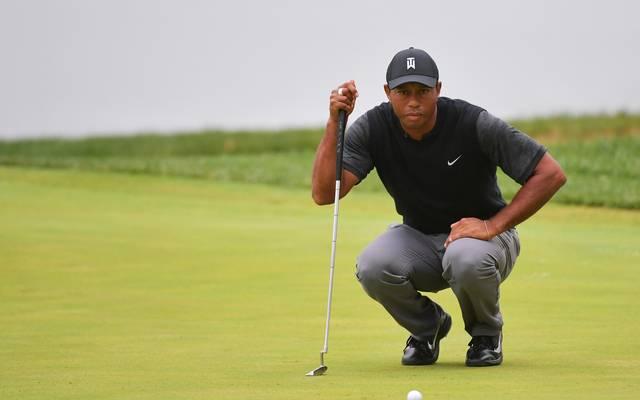 Tiger Woods spielte eine starke 3. Runde