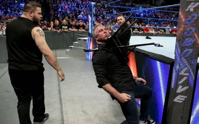 Shane McMahon wurde bei SmackDown Live brutal abgefertigt