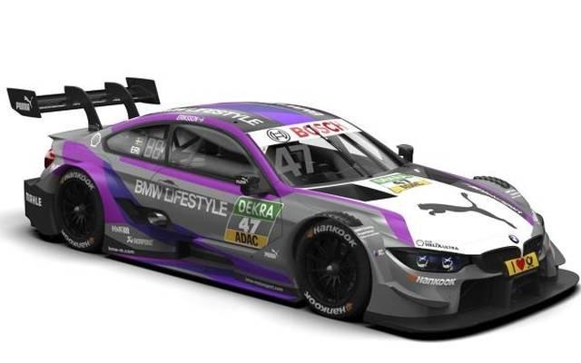 Der BMW von DTM-Neuling Joel Eriksson erstrahlt in neuem Design