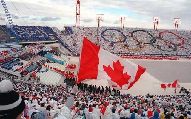 Bereits 1988 fanden die Olympischen Winterspiele in Calgary statt