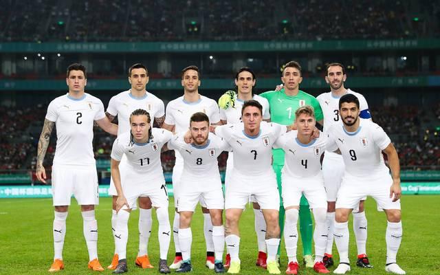 Mannschaftsfoto von Uruguay