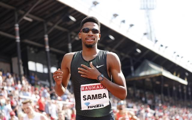 Abderrahman Samba verpasste den Weltrekord über 400 m Hürden um zwei Zehntelsekunden