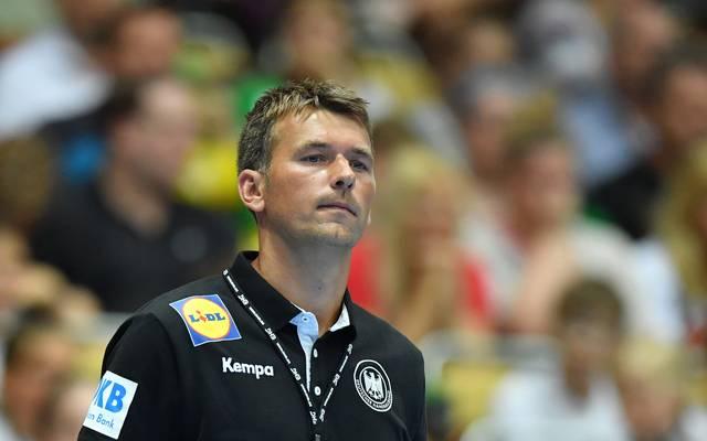 Handball-Bundestrainer Christian Prokop will bei der WM ins Halbfinale