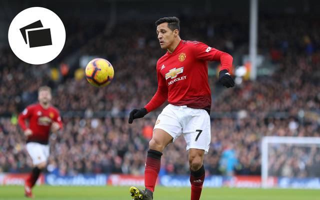 Alexis Sanchez, Manchester United, Champions League
