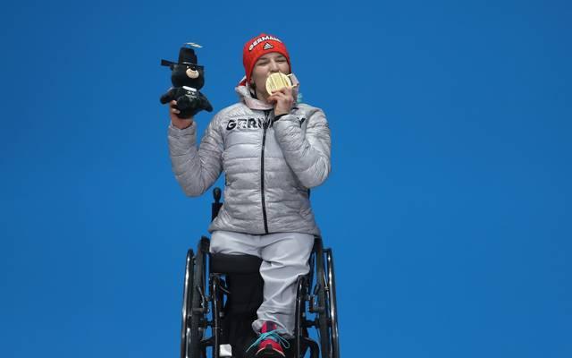 Anna-Lena Forster sicherte sich am letzten Tag Gold