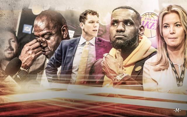 Bei den Los Angeles Lakers ist das Chaos ausgebrochen