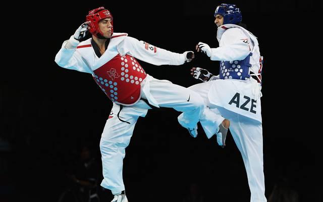 Steven Lopez (l.) gewann 2000 und 2004 Olympia-Gold