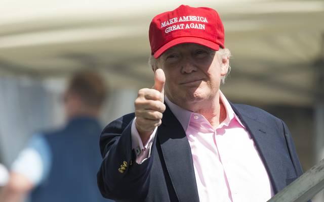 US-POLITICS-TRUMP-US WOMEN'S OPEN-GLF