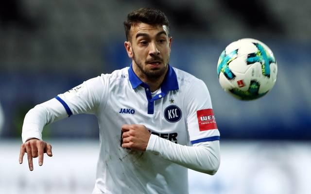 Burak Camoglu hat mit dem Karlsruher SC den Aufstieg im Blick