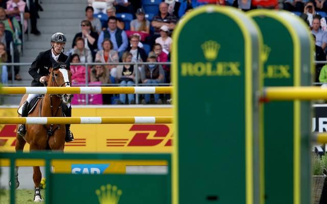 Marcus Ehning gewann den Großen preis von Aachen zum zweiten Mal