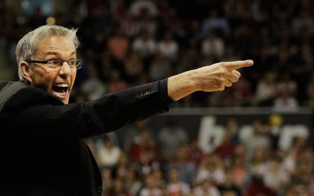 Frankfurts Trainer Gordon Herbert