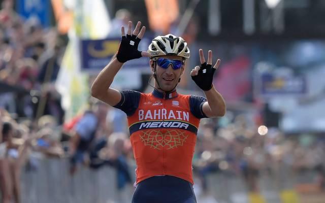 Der Italiener Vincenzo Nibali gewinnt die 109. Ausgabe des Frühjahrsklassikers Mailand-Sanremo