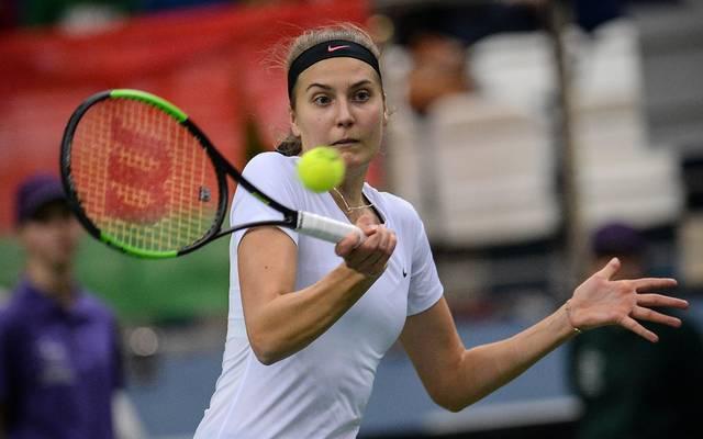 Antonia Lottner verpasst in Moskau den Sprung in die zweite Runde