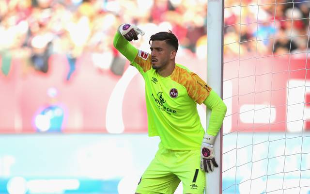 Fabian Bredlow droht gegen Hoffenheim die Bank