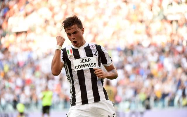 Paulo Dybala trifft für Juventus Turin
