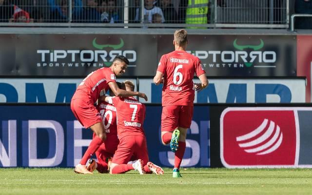 Heidenheim feierte dank Marc Schnatterer spät einen Heimsieg