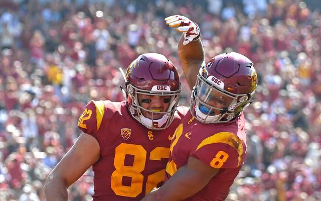 College Football: Amon-Ra St. Brown glänzt mit Touchdown bei Trojans-Sieg