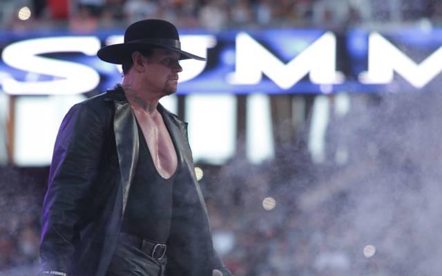 Wrestling-Star The Undertaker absolvierte seinen letzten Kampf bei WrestleMania im April