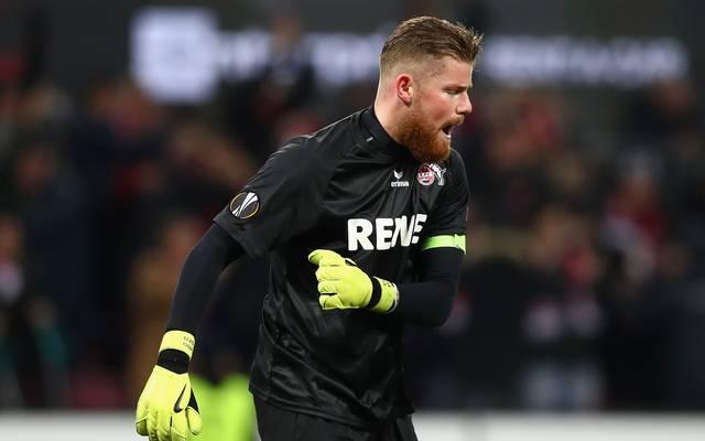 Timo Horn steht noch bis 2022 beim 1. FC Köln unter Vertrag