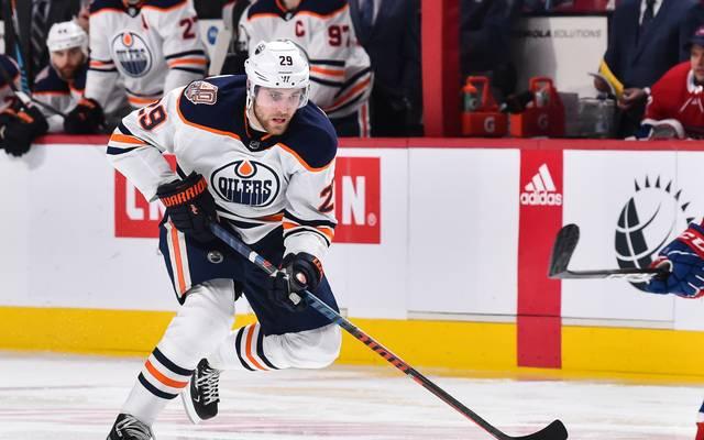 Leon Draisaitl erzielte die 1:0-Führung für Edmonton