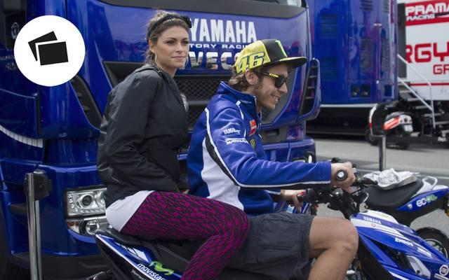 Valentino Rossi liebt den Rennsport - und das süße Leben