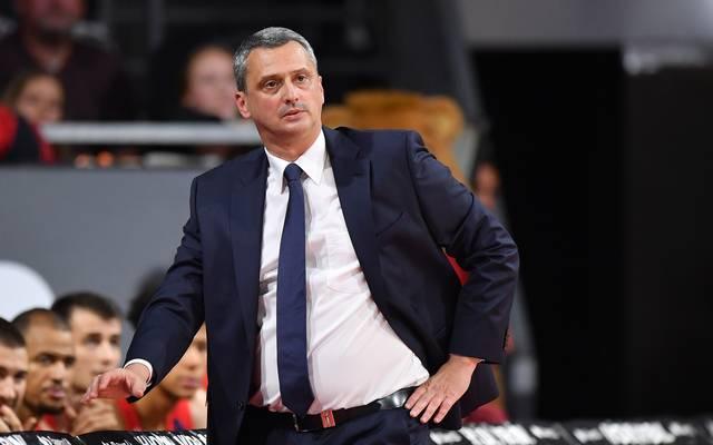 Bayern-Coach Dejan Radonjic war mit der Leistung seines Teams nicht einverstanden