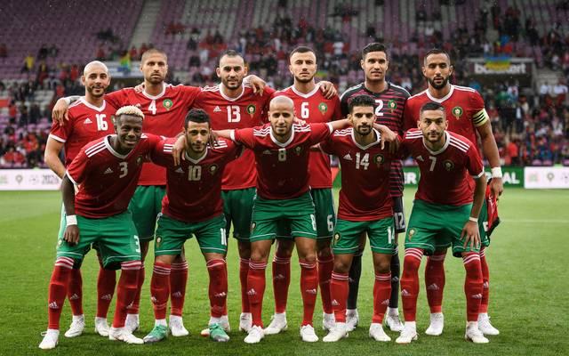 Mannschaftsfoto von Marokko