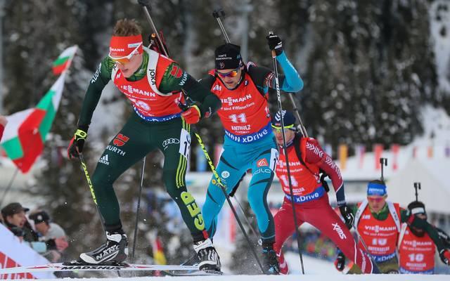 Benedikt Doll schließt die Biathlon-Saison mit einem vierten Platz ab