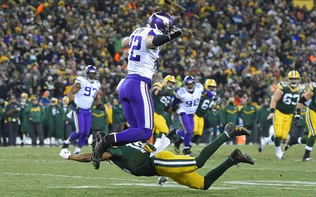 Die Minnesota Vikings demütigen die Green Bay Packers in ihrem eigenen Stadion