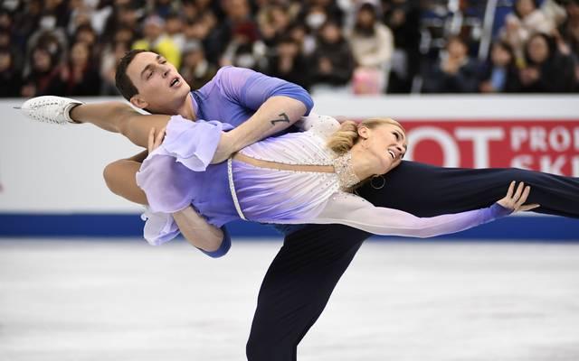 Aljona Savchenko und Bruno Massot setzen alles auf die olympischen Spiele 2018 in Pyeong Chang