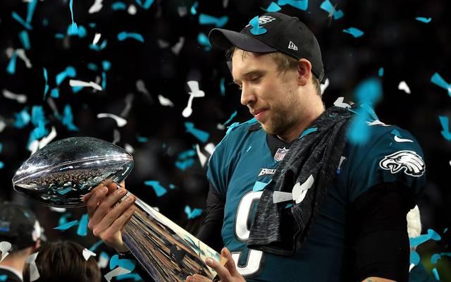 Nick Foles gewann nicht nur den Super Bowl, er wurde auch zum MVP der Partie gewählt